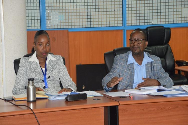 Internal Audit Departmental Meeting in Progress