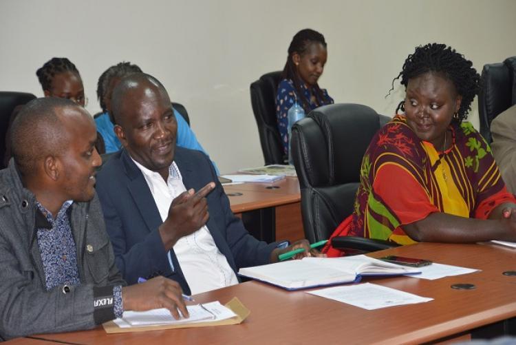Part of membership of Internal Audit staff