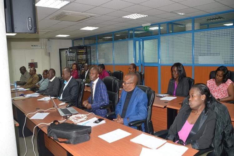 Members addressing each Unit's Audit Report