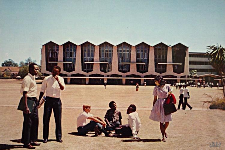 An old pic at uon great court