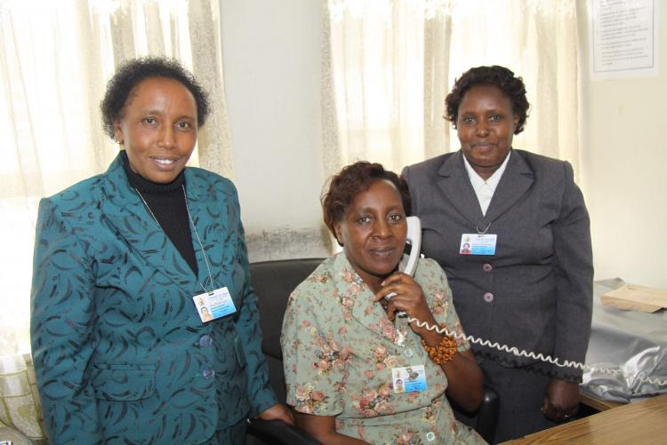 Internal Audit Staff posing for a photo