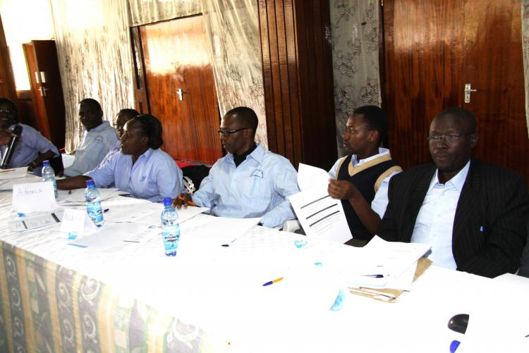 MR MUASYA AND OTHER AUDITORS DURING THE TRAINING